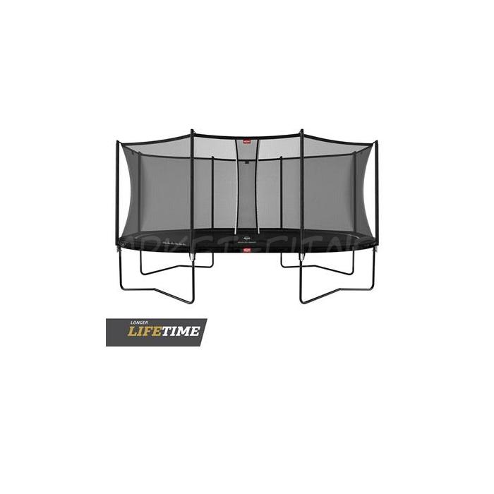 Батут BERG Grand Favorit Regular 520 Black + Safety Net Comfort