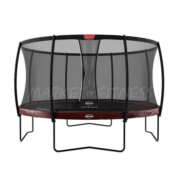 Батут BERG Elite Regular 430 Red + Safety Net Deluxe