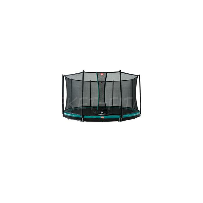 Батут BERG InGround Favorit Green 430 + защитная сетка Safety Net Comfort