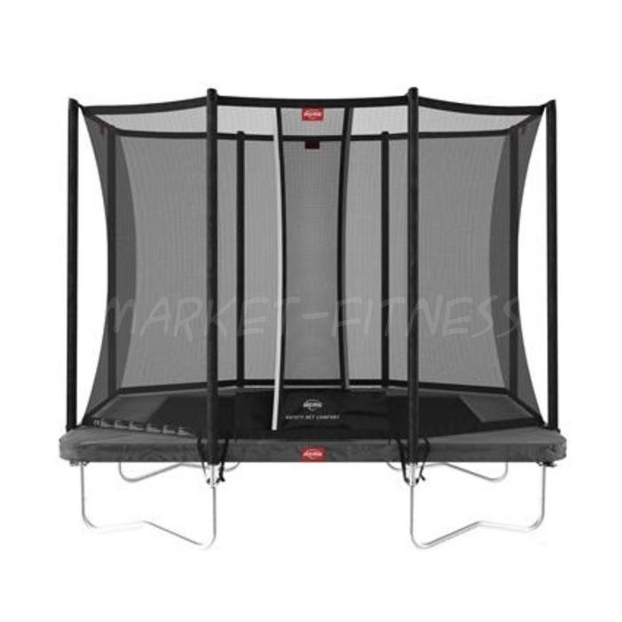 Батут BERG Ultim Favorit Regular 280 Gray + Safety Net Comfort