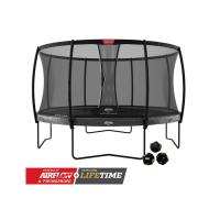 Батут BERG Elite Regular 430 Grey Levels + Safety Net Deluxe