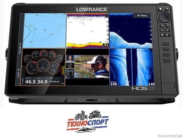 Эхолот Lowrance HDS-16 LIVE No Transducer (ROW)