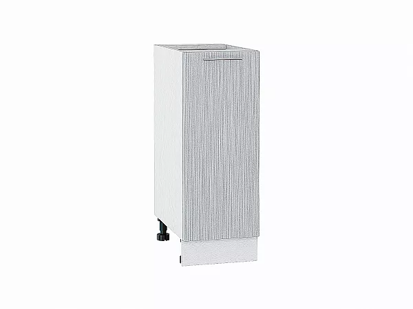 Шкаф нижний Валерия Н300 (серый металлик дождь)