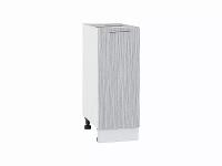 Шкаф нижний с 1-ой дверцей Валерия Н300 в цвете серый металлик дождь