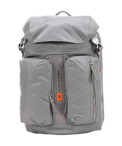 Рюкзак городской Piquadro CA5039BIO/GR нейлон/кожа серый
