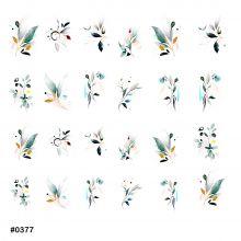 Слайдер-дизайн для ногтей № 0377
