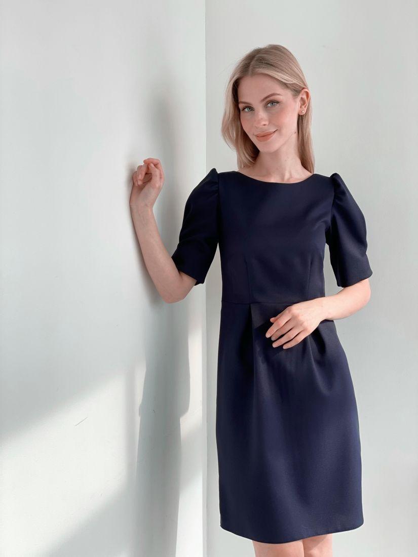 s3921 Платье с открытой спинкой в цвете marengo
