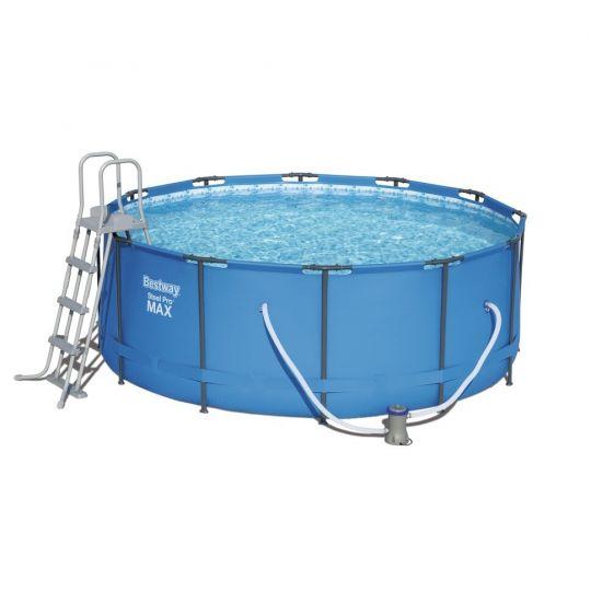 Каркасный бассейн Bestway 15427 (366х133) с картриджным фильтром