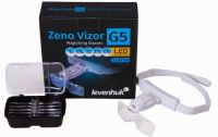 Лупа-очки Levenhuk Zeno Vizor G5 - упаковка