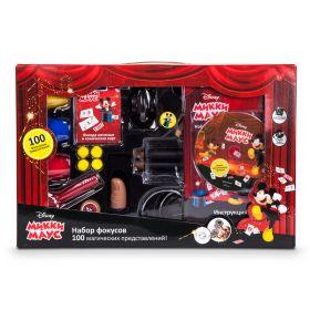 """Набор фокусов для детей Дисней развивающий набор """"Фокусы с Микки Маус"""", 100 фокусов"""