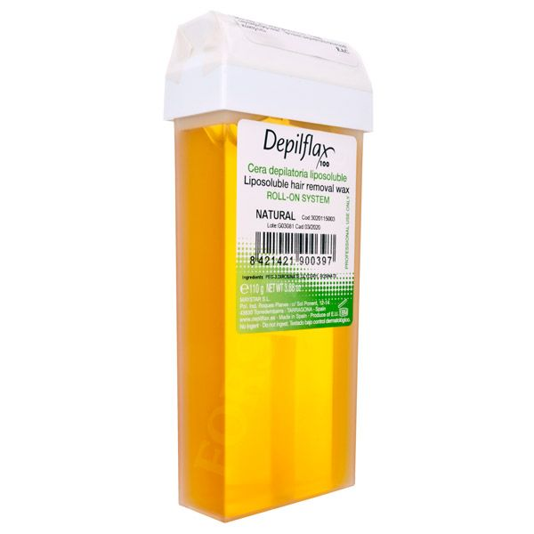Воск в картриджах DepilFlax natural, (Натуральный) 110 г