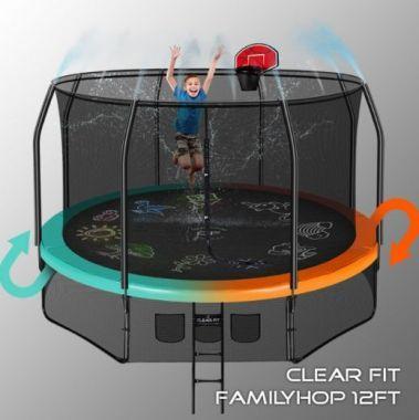 Батут Clear Fit FamilyHop 12Ft