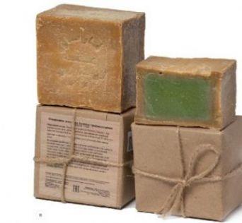 Настоящее Аллепское оливковое мыло, выдержка более 1 года, 200 гр