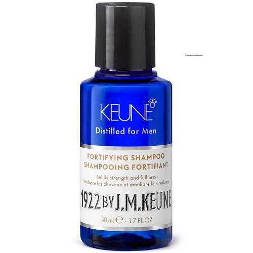 Keune Укрепляющий шампунь против выпадения 1922 Fortifying Shampoo, 50 мл.