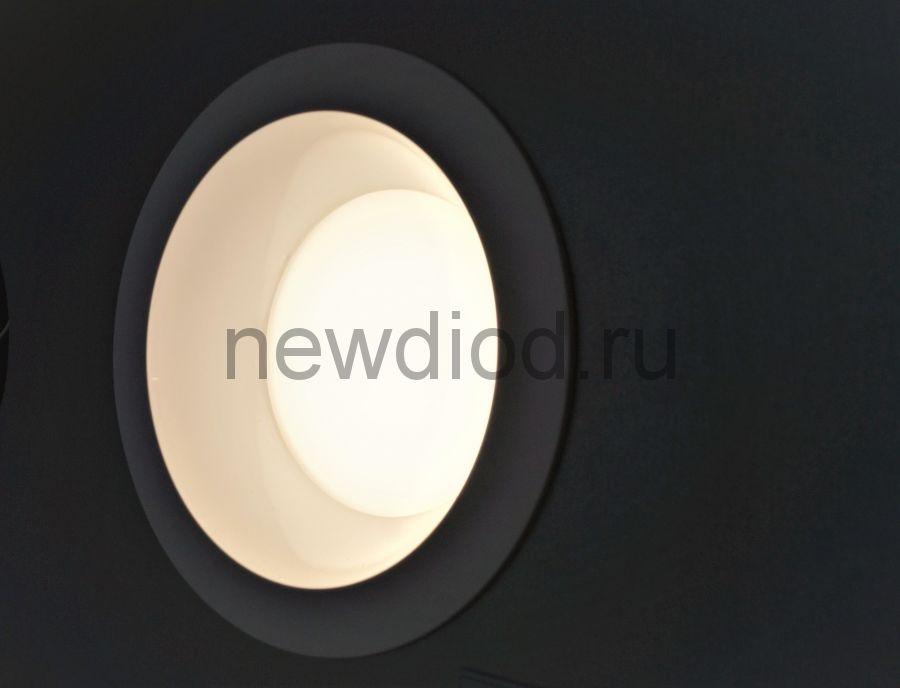 Светильник встраиваемый OREOL DL 40W-16м² 225/195mm антиблик 4000K КРУГ