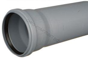 Труба канализационная 110х1500мм