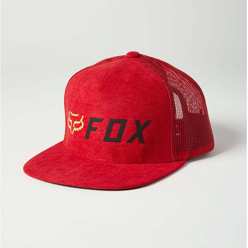 Fox Apex Snapback Red/Black бейсболка