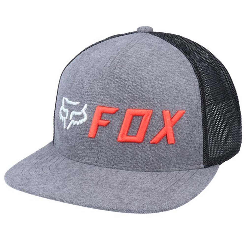 Fox Apex Snapback Grey/Orange бейсболка
