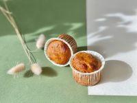 Кексы с грецким орехом и курагой. 150 г