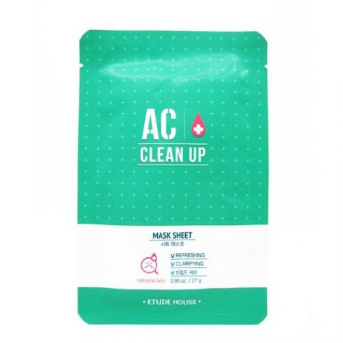 436550 ETUDE HOUSE Очищающая маска для проблемной кожи AC Clean Up Mask Sheet