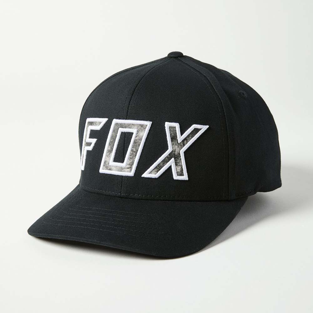 Fox Down N'Dirty Flexfit Black/White бейсболка