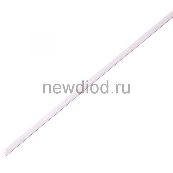 Термоусадочная трубка 4,0/2,0 мм, белая, упаковка 50 шт. по 1 м PROconnect