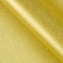 Бумага упаковочная тишью, золотой, 50 см х 66 см, 10 шт