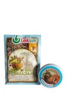 Крем-бальзам Дезодорант для подмышек с маслом пальмарозы ТМ Леккос 10 г