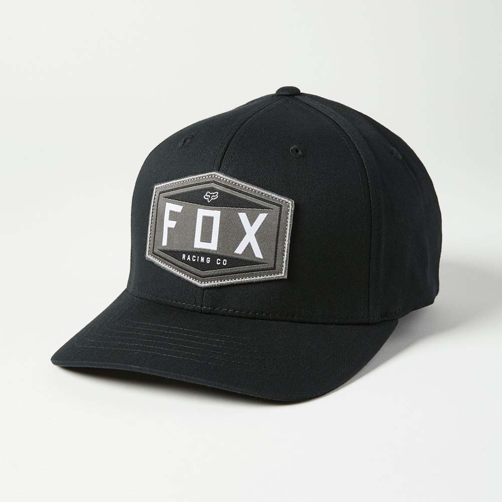 Fox Emblem Flexfit Black бейсболка