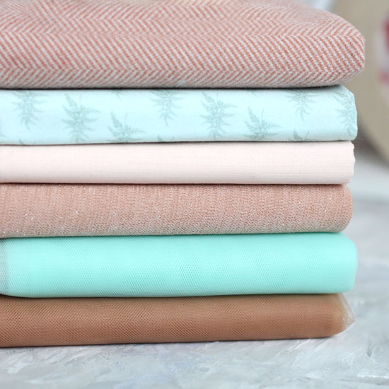 Набор тканей для пошива Мятный латте
