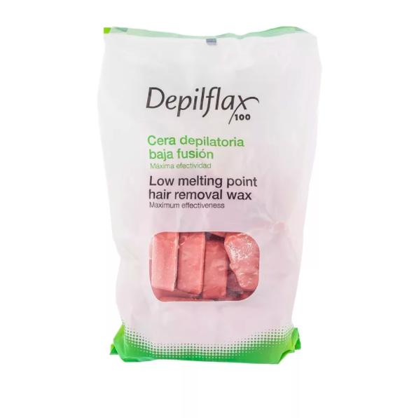 DepilFlax Горячий Воск Для Депиляции (Розовый) 1000г