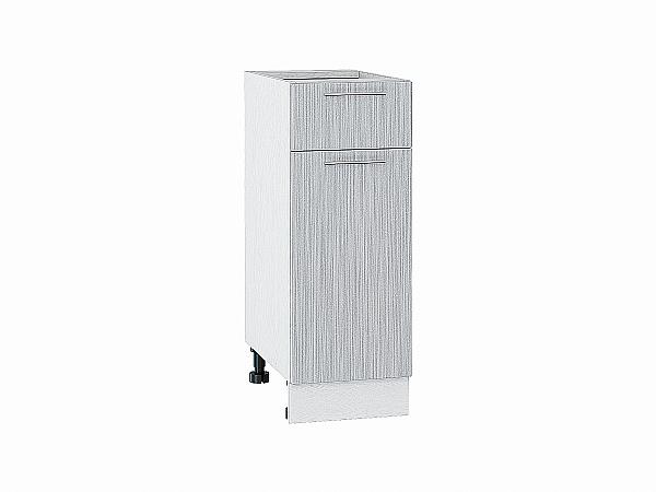 Шкаф нижний Валерия Н301 (серый металлик дождь)