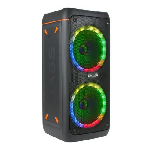 Портативная акустическая караоке колонка ELTRONIC с TWS 20-30 DANCE BOX с микрофоном и 3D подсветкой