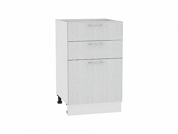 Шкаф нижний Валерия Н503 (серый металлик дождь)