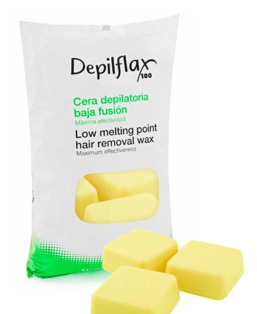 DepilFlax Горячий Воск Для Депиляции (Слоновая Кость) 1000г