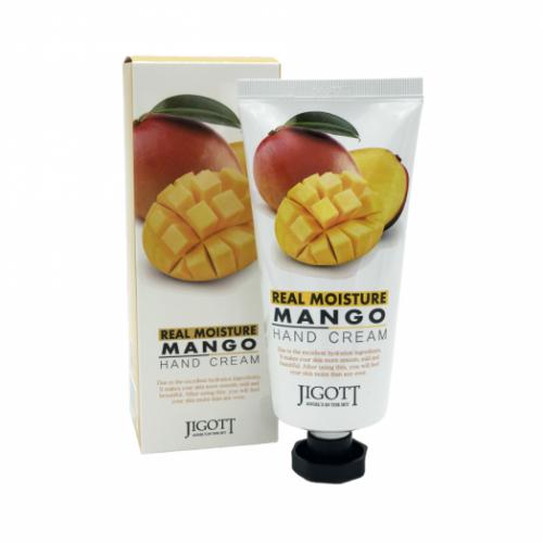 280795 JIGOTT Увлажняющий крем для рук с маслом манго Real Moisture Mango Hand Cream