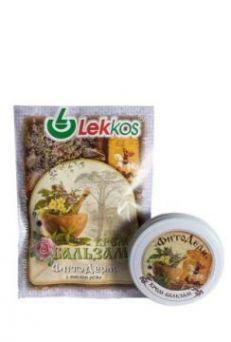 Крем-бальзам ФитоДерм с маслом розы ТМ Леккос 10 г