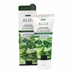 281563 JIGOTT Успокаивающая пенка с экстрактом алоэ Natural Aloe Foam Cleansing