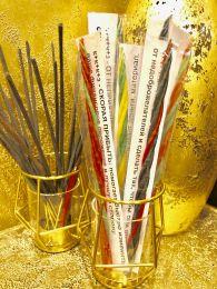Скорая прибыль. Свеча Скрутка из 4-х свечей 21 см