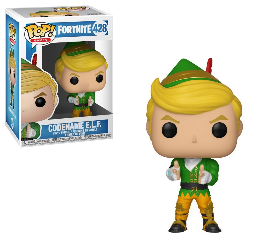 Фигурка Funko POP! Vinyl: Games: Fortnite: Codename E.L.F. POP 1 35150