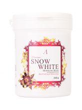 Snow White Modeling Mask / container 240гр PREMIUM Маска альгинатная осветляющая
