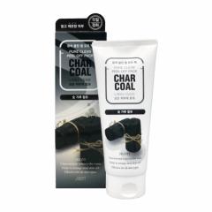 280009 JIGOTT Очищающая угольная маска-пленка Char Coal Pure Clean Peel Off Pack