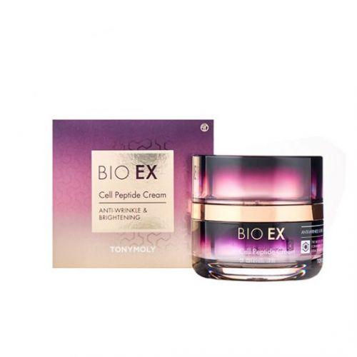 022307 TONYMOLY Антивозрастной крем для лица с пептидами BIO EX Cell Peptide Cream