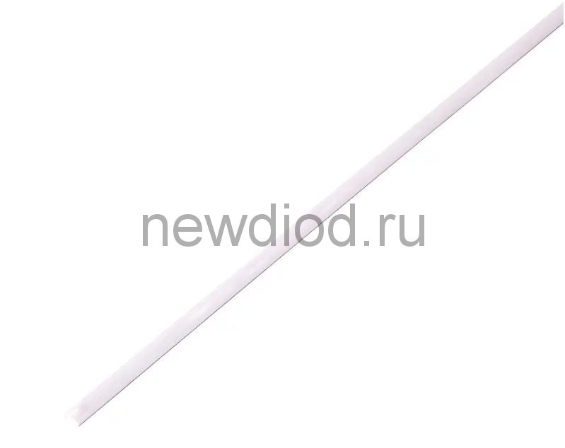 Термоусадочная трубка 2,0/1,0 мм, белая, упаковка 50 шт. по 1 м PROconnect