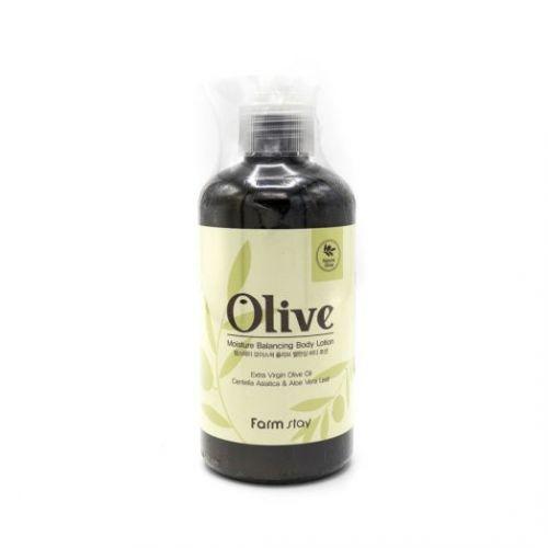 881071 FarmStay Увлажняющий лосьон для тела с экстрактом оливы Olive Moisture Balancing Body Lotion