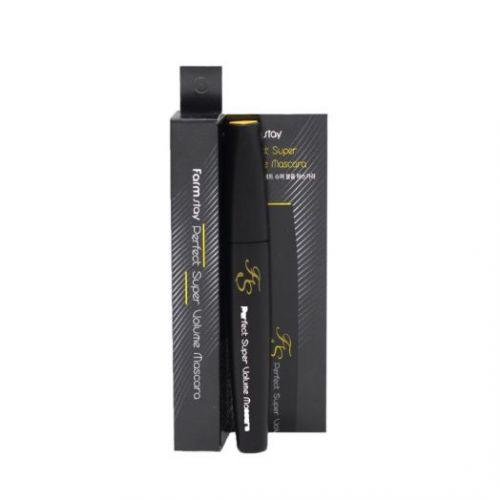 406646 FarmStay Тушь для ресниц объемная и подкручивающая Perfect Super Volume Mascara