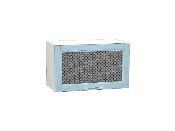 Шкаф верхний Сканди ВГ610 со стеклом Sky Wood