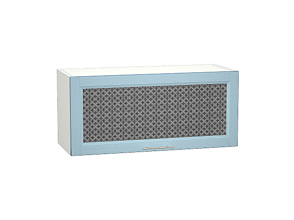 Шкаф верхний Сканди ВГ810 со стеклом Sky Wood