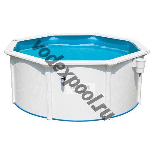 Сборный круглый бассейн Bestway Hydrium 56566 (300x120 см) с песочным фильтром, лестницей и тентом