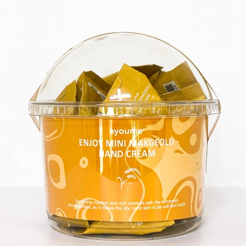Крем для тела с маслом ши Ayoume Enjoy Mini Body Cream Shea Butter, 10 гр